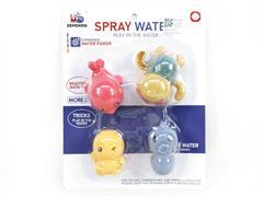 Wind-up Swimming Tortoise & Latex Animal toys