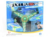 Pull Line Flying Saucer Aircraft W/L