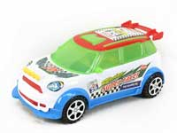 Pull Line Racing Car W/Bell(3C)