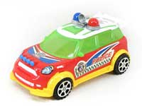 Pull Line Police Car W/Bell(3C)