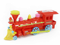 Pull Line Train W/Bell toys