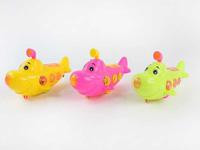 Pull Line Submarine W/L(3C) toys