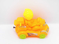 Pull Line Car W/Bell(3C) toys