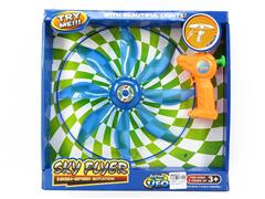 Pull Line Flying Saucer W/L toys