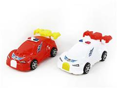 Pull Line Police Car W/Bell(3C) toys