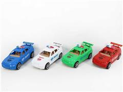 Pull Line Police Car(4C) toys