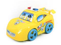 Pull Line Police Car(2C) toys
