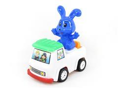 Pull Line Animal Car toys