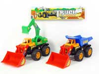 Friction Construction Truck(2S)