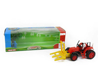 Friction Farmer Tractor Set(4C)