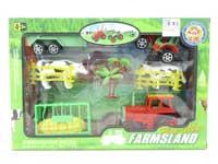Friction Farmer Tractor Set