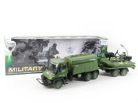 Friction Military Truck