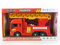 Friction Fire Engine W/M