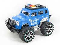 Friction Cross-country Police Car(2C)