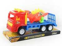 Friction Truck Tow Dinosaur(2C)