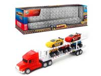 Friction Double Deck Trailer