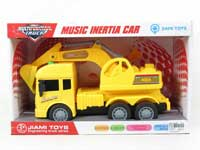 Friction Construction Truck W/M
