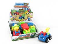 Friction Construction Truck(6in1)