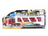 Friction Truck Tow Fire Engine