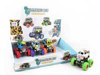 Friction Stunt Bus(12in1)