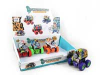 Friction Stunt Train(12in1)