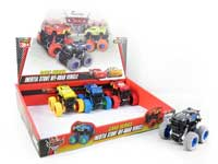 Friction Stunt Car(12in1)