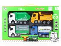 Friction Sanitation Truck(4in1)