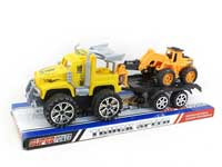Friction Truck Tow Free Wheel Construction Truck(3C)