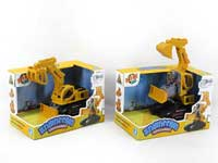 Friction Transforms Construction Truck(2S)