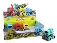 Friction Construction Truck(8in1)
