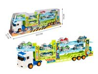 Friction Truck Tow Motorcycle(2C)