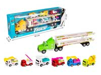 Friction Truck Tow Construction Truck