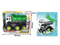 Boy toys friction truck light and sound toys