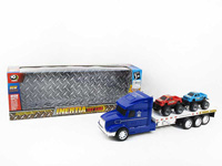Friction Truck, toy trailer, trailer with pick-up