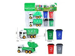 Friction Sanitation Truck(2in1)
