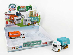 Friction Sanitation Truck(8in1)
