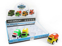 Die Cast Sanitation Truck Friction(12in1) toys