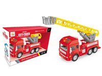 Friction Fire Engine W/L_S toys