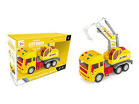 Friction Construction Truck W/L_S toys