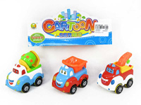 Friction Construction Truck(3in1) toys