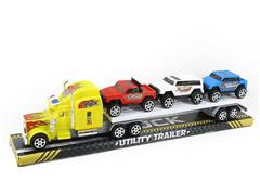 Friction Truck Tow Free Wheel Car(2C) toys