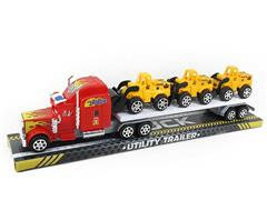 Friction Truck Tow Free Wheel Construction Truck(2C) toys