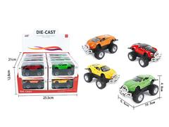 Die Cast Cross-country Car Friction(12in1) toys
