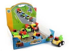 Friction Car(12in1) toys