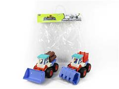Friction Farmer Truck(2in1) toys