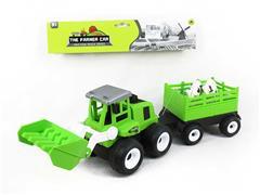 Friction Farm Truck(3S) toys