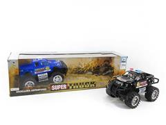 Friction Cross-country Police Car(2in1) toys
