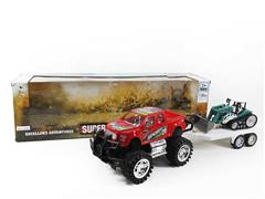 Friction Cross-country Truck(3C) toys