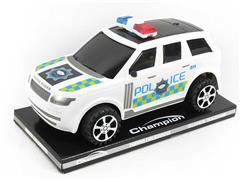 Friction Police Car toys