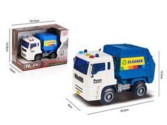 Friction Sanitation Truck W/L toys